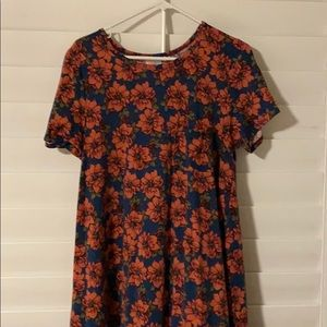 Floral print LulaRoe Carly Dress
